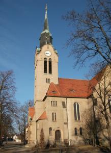 Ansicht der Christuskirche