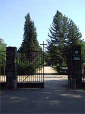 Neuer Friedhof – Tor