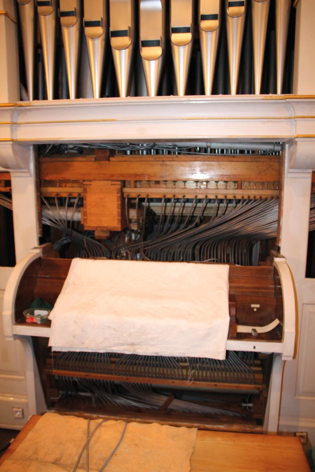 stand orgelsanierung