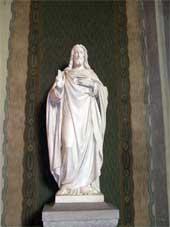 Christuskirche – Christus-Statue
